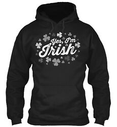 The Perfect Design For An Irish Lass Classic Pullover Hoodie - Poly/cotton Blend