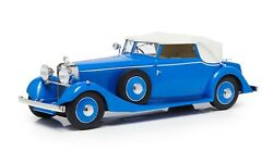 1934 Hispano Suiza J12 Drophead Coupe Closed In 118 By Esval Models