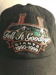 San Francisco Giants Candlestick Park Cap Tell it Goodbye 1960 1999 Pacific Bell