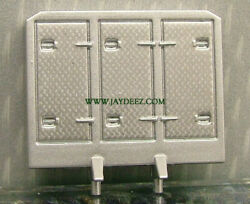 164 Custom Building Parts-5pk Silver Cabinet Style Headache Rack Resin By Dcp