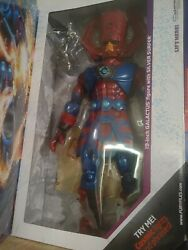 """Galactus 19"""" Talking Action Figure And Silver Surfer Sdcc 2016 Exclusive"""
