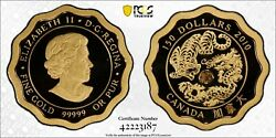 2010 Canada Blessings Of Strength 150 Gold Coin Pcgs Pr 70 Dcam Box And Coa
