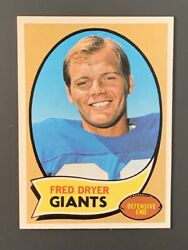 1970 Topps 247 Fred Dryer Rookie Nm-mt New York Giants