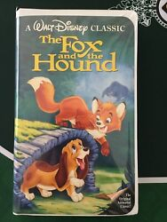 The Fox And The Hound Vhs 1994 Black Diamond Classic. Rewound. Cool Inserts.