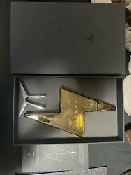 Tesla Tequila Lightning Empty Bottle With Stand And Box Collectible No Alcohol