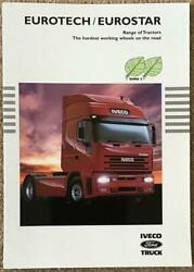 Iveco Ford Eurotech/eurostar Tractors Commercial Sales Brochure 1999 Br39a/99