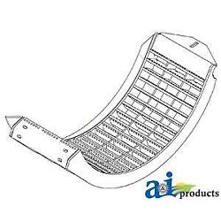 A-ah209090 Concave Front High Wear Corn And Soybean Fits Av103700 Axe28965