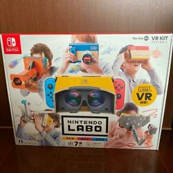 Nintendo Labo Toy-con 04 Vr Kit game Switch Action Japan