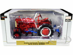 Ih Farmall Cub Tractor Cultivator Red 1/16 Diecast Model By Speccast Zjd1893