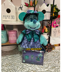 Disney Minnie Mouse The Main Attraction The Haunted Mansion Plush And Pins Set