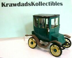 Vtg Revell Gowland And Gowland Model 1910 Green Studebaker Electric Nicely Built