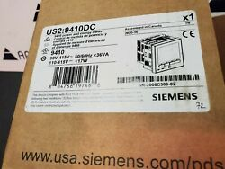 Siemens 9410dc  Ac Power Quality Meter With Integrated Lcd Display