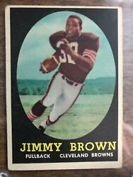 Topps Jimmy Brown Rookie Card