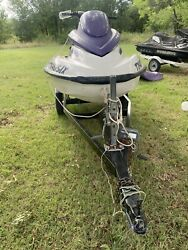 2003 Seadoo Gti Twin Carb Jet Ski Trailer New Cover Needs Some Work Overall Good