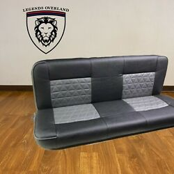 Land Rover Defender Bench Seat Set Pair 2 Seats Total 3rd Row