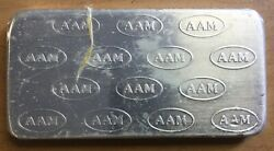 1982 American Argent Mint Vintage Bar - 10 Troy Ounces .999 Of Silver