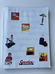 Vintage Service Merchandise 1997/98 Fine Jewelry And Home Catalog Vol. 28