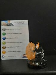 Ghost Rider 037 Incredible Hulk Heroclix With Card