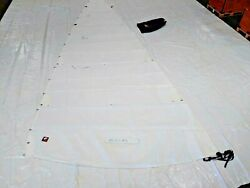 New Dacron Mainsail For Santana 27 By Sobstad Sailmakers 26.8and039 Luff