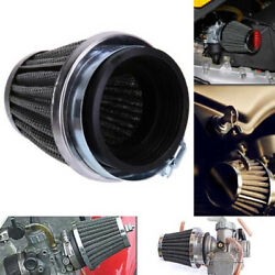 50mm Inlet Air Intake Tapered Air Filter Cleaner For Racing Car Motorcycle Kv