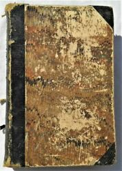Very Old The Pilgrim's Progress By John Bunyan Paper Hardcover, Early Edition
