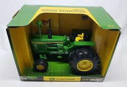 John Deere 6030 Open Station Tractor With Fat Rear Tires By Ertl 1/16 Scale