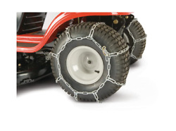 Tractor Tire Chains For 20 In. X 8 In. Wheels Set Of 2   Lawn Snow Arnold Rear