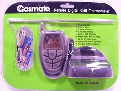 Gasmate Remote Wireless Digital Meat Thermometer Bbq Grill Cooking Probe Food