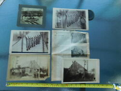 Rare Vintage Historical Lake Owen Billy The Bear Cabinet Photo Lot Drummond Wi