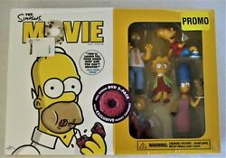2007 The Simpsons Movie Dvd With Exclusive Family Figurines New Old Stock