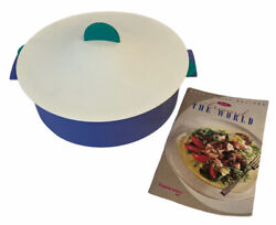Tupperware Microsteamer 3 Piece Set Microwave Steamer Rice Cooker Multicolor