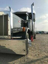 Peterbilt 379 Chino Tip 60andordm Elbow Exhaust Stack Set Chromed Tracto Bull