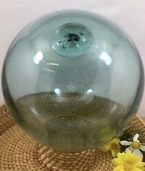 Antique Hand Blown Glass Fishing Float