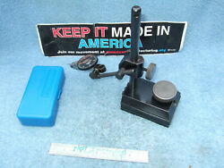 Surface Gage Black Usa Toolmaker Made Inspection Tool Hermann Schmidts Here Also