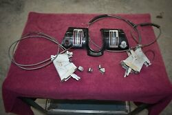 1955-56 Packard Clipper 400 Heater And Defrost Dash Controls And Assembly Nice