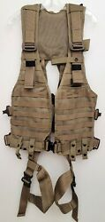 Yates Gear Special-ops Model 361 Full Body Harness Military Vest