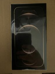 New Sealed Apple Iphone 12 Pro Max Factory Unlocked 512gb Gold A2342 Mgcr3ll/a
