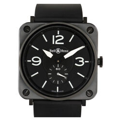 Bell And Ross Br S Ceramic Matte Stainless Steel 39mm Quartz Watch