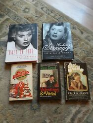Hollywood Gossip And Lucille Ball/barbara Stanwyck 5 Books
