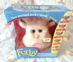 Furby Plush Toys Caramel Syrup Blue Eyes 2005 Edition Toys Character Goods