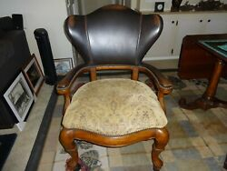 Reduced. Thomasville Furniture British Gentry Collection Dining Arm Chair