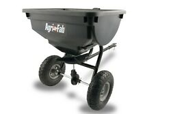 85 Lb Tow Behind Broadcast Spreader Fertilizer Seed Atv Lawn Mower Tractor Pull