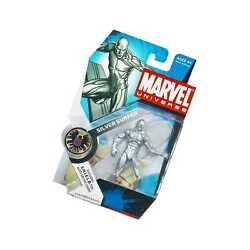 Hasbro Marvel Universe Series 1 Action Figure 003 Silver Surfer 3.75 Inch