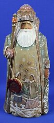 Rare G. Debrekht Signed And Numbered Foresi Freind Woodcarved Figure