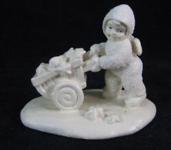 There's Another One 76619 Dept 56 Snowbabies Rare Minature Pewter