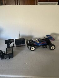 1985 Nikko Off Road Special F10 Thunder Bolt Rc Dune Buggy Frame Buggy Untested