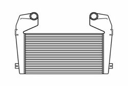 Fits A 1989-1993 Kenworth T800w W900 Charge Air Cooler W/ Bar And Plate