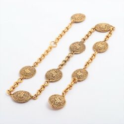 Vintage Chain Belt Gold Plated Gold