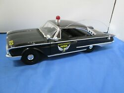 1/18 Scale--ertl American Muscle--1960 Ford Starliner Ohio State Highway Patrol