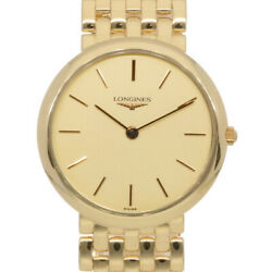 Longines Watches L8 605 6 Gold From Japan Used